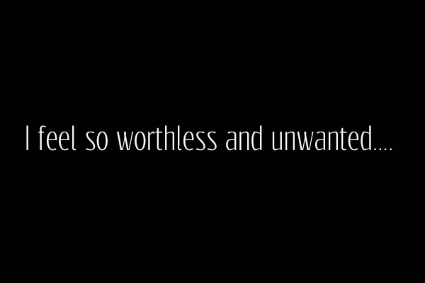 Quotes About Feeling Worthless 26 Quotes