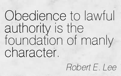 a few good men obedience to authority