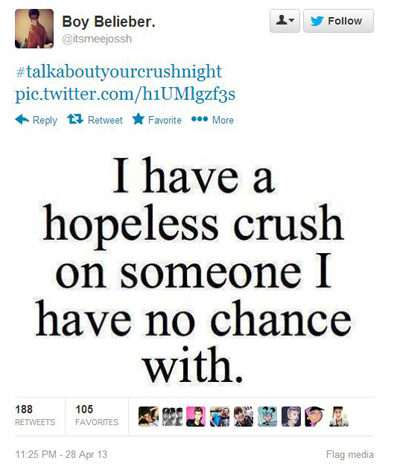 Quotes about Boy crushes (23 quotes)