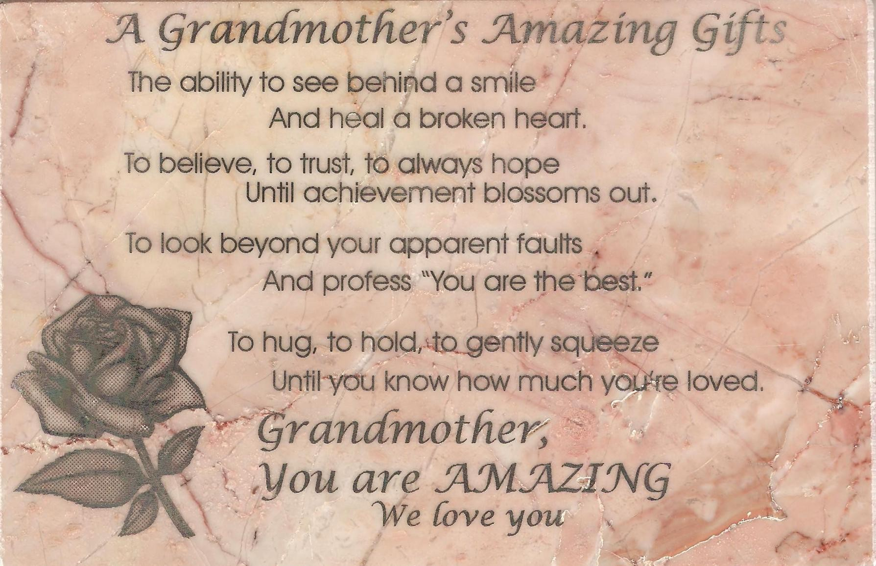 Quotes about Deceased grandmother (26 quotes)