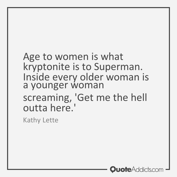 meeting older women in hell