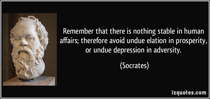 a discussion on socrates arrogance