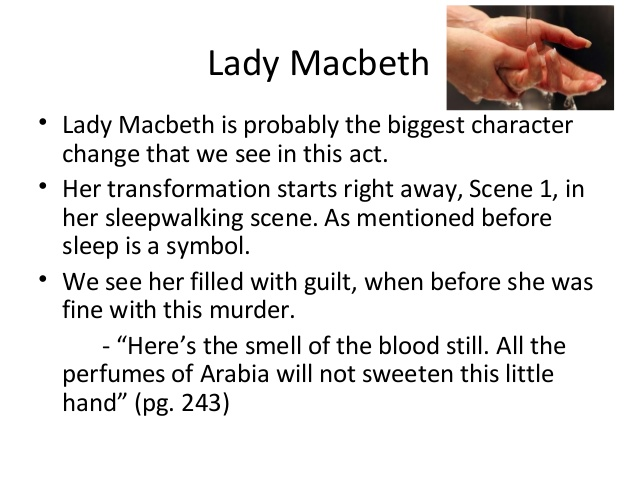 macbeth and lady macbeth s guilt essay Macbeth and lady macbeth can be used as prime examples of people that act upon ambition although both are portrayed to be evil in comparison, they also have through the increasing murders, we can sense lady macbeth s breakdown of her previous strengths, suffering from her own guilt.