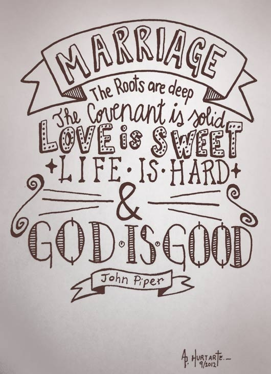 quotes about marriage john piper quotes