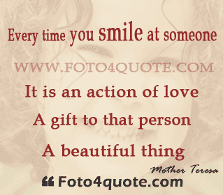 Quotes about Smile with love (100 quotes)