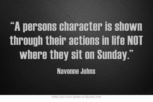 quotes about christian actions quotes
