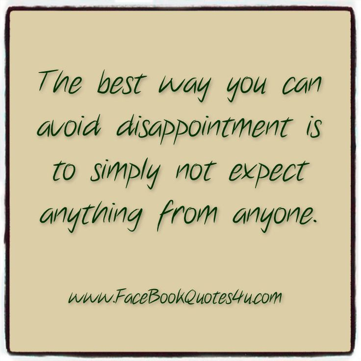 quotes about disappointing quotes