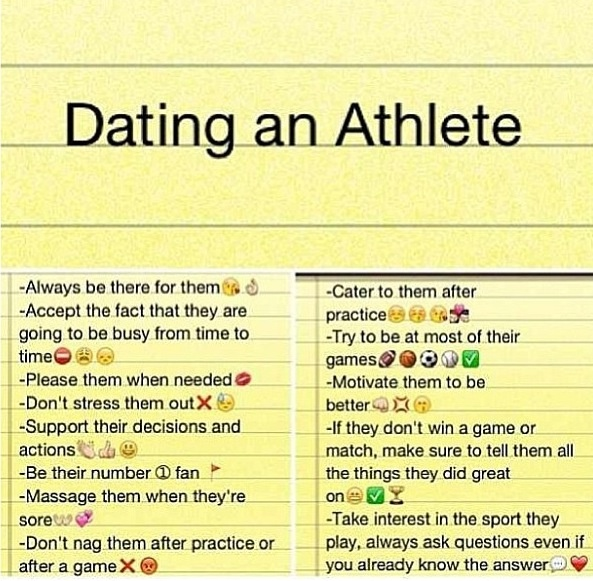 To Athletic When An Know Things Girl Dating