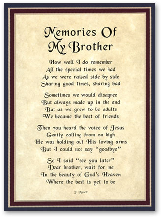 Quotes About Death Of A Brother 45 Quotes