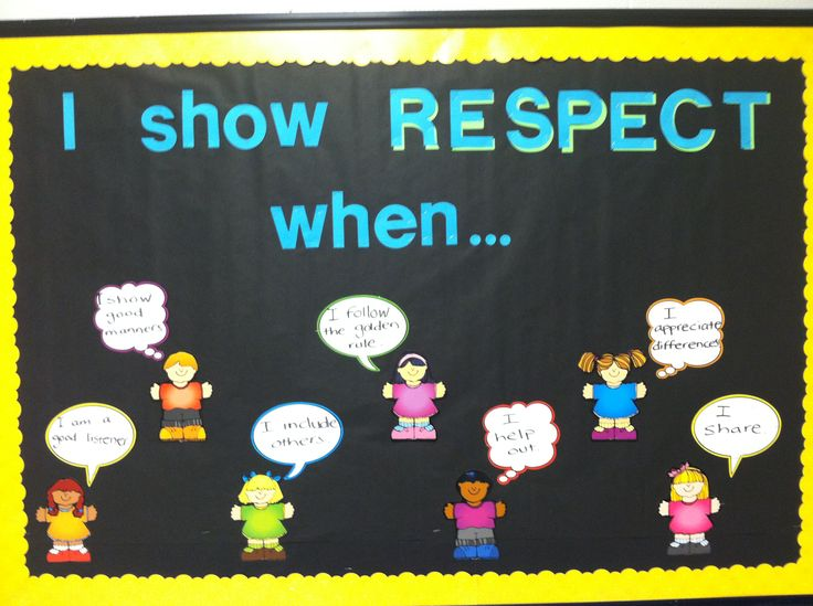 how to show respect for your child