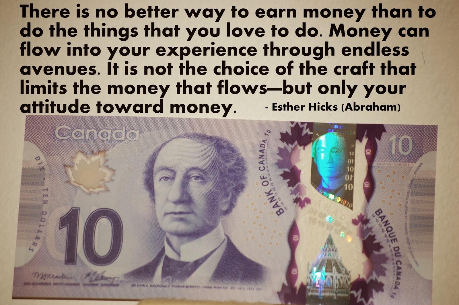 two attitudes toward money