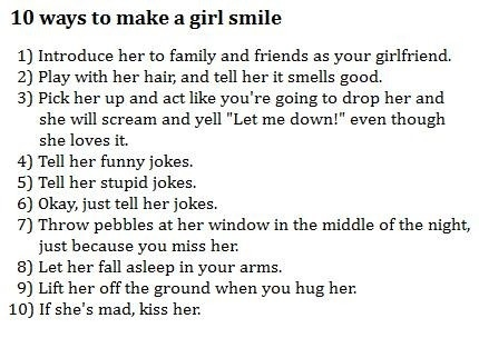 Original How To Make Your Gf Happy - Soaknowledge