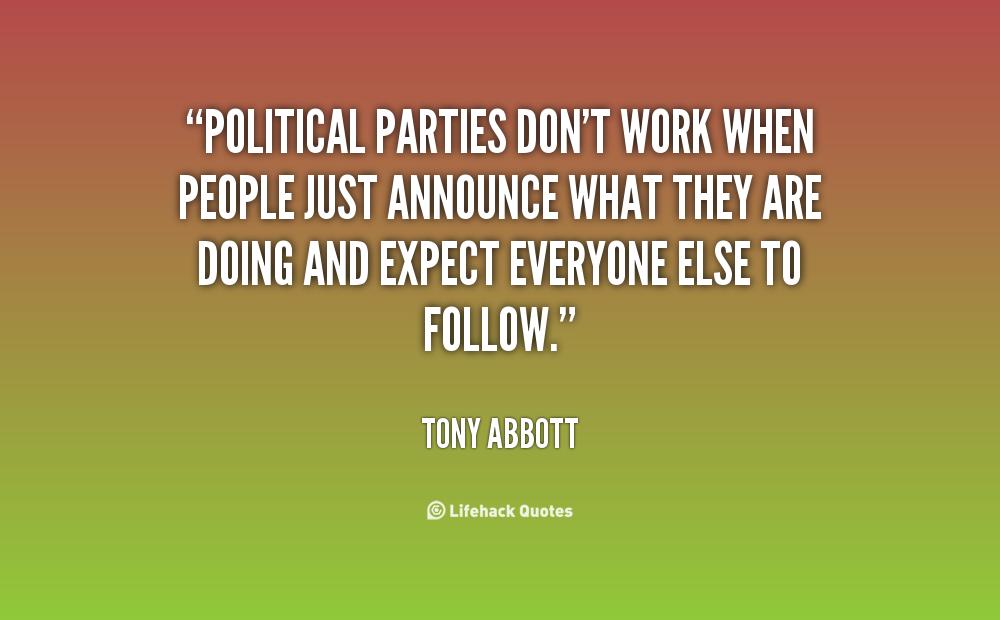 Politics Work Quotes Picswe