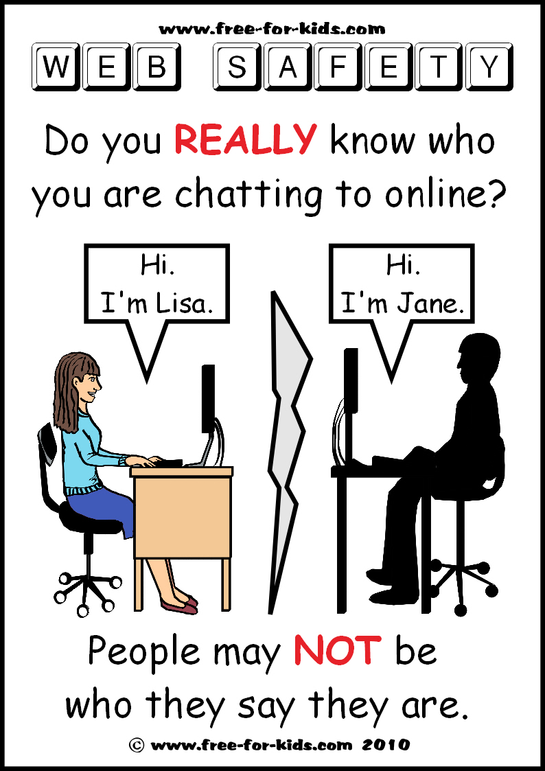 can internet chatting be an