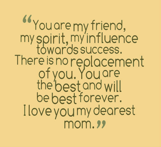 Quotes About Love Being A Mom