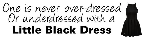Quotes About Black Dress 79 Quotes