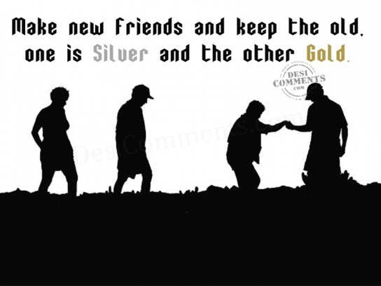 new friends vs old friends essay Friends vs best friends a friendship is one of the kinds of relationships that brings difference between friends and best get new comparisons in.