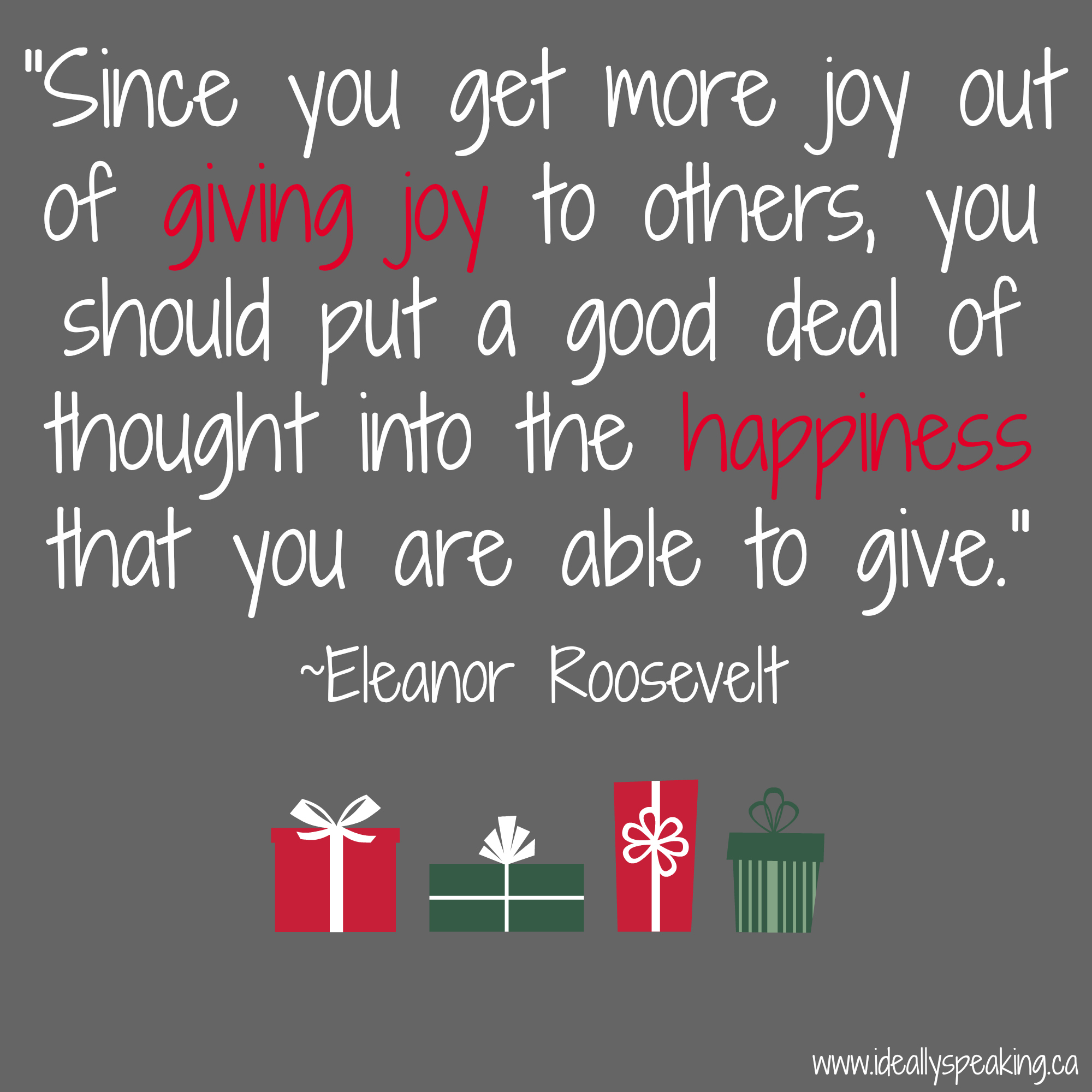 gift giving quotes for christmas