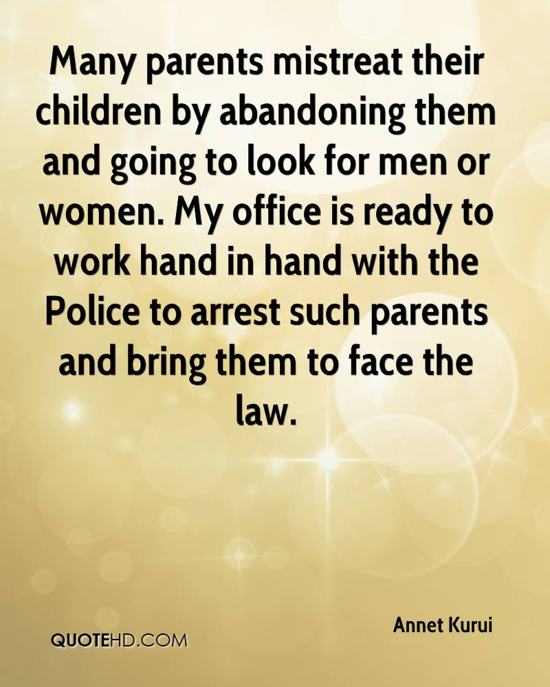 Quotes about Child Abandonment (35 quotes)