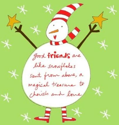 Quotes about Christmas and friendship (20 quotes)
