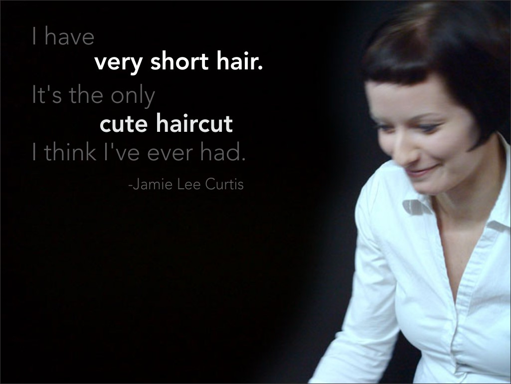 Quotes about Short Hair (12 quotes)