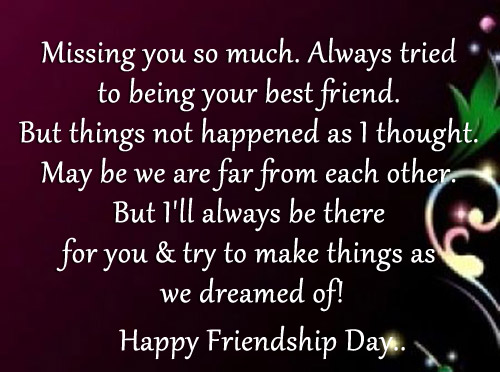 quotes about friendship missing quotes