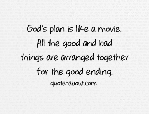quotes about god plan quotes