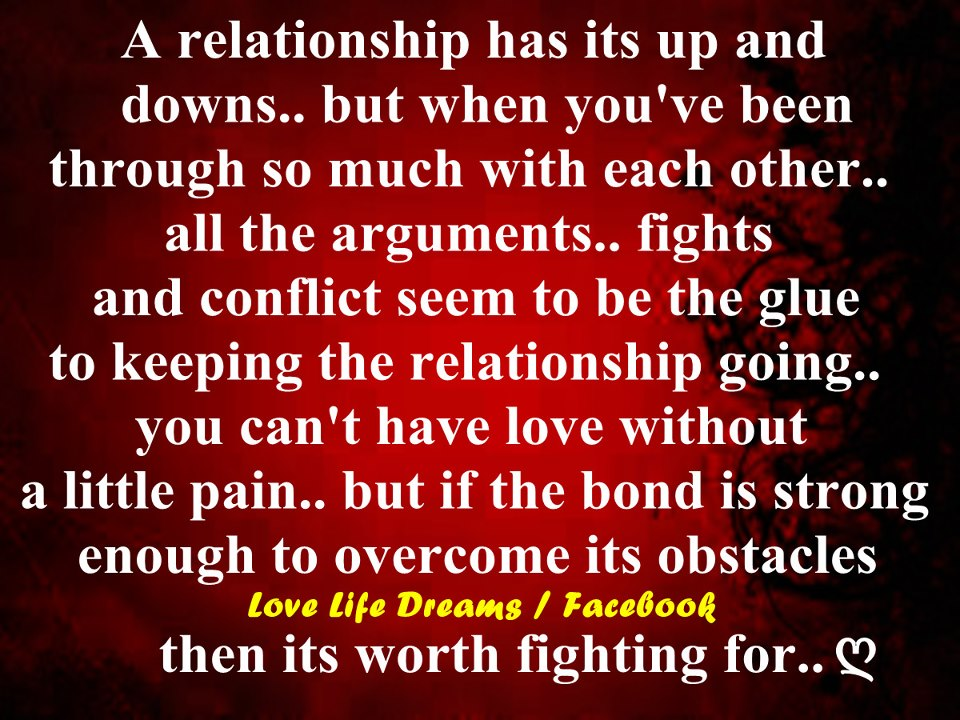Quotes About Relationship Ups And Downs 23 Quotes