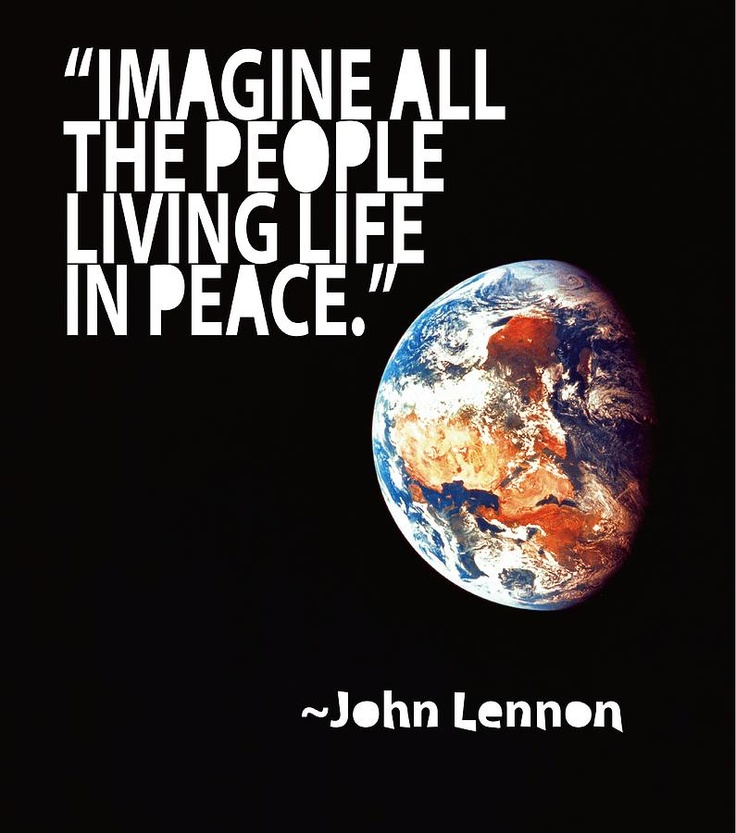 Quotes About Peace John Lennon 20
