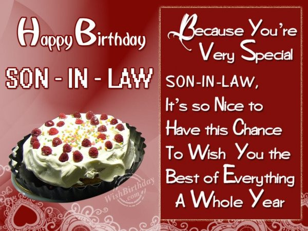Funny Birthday Memes For Son In Law : Quotes about son in laws quotes