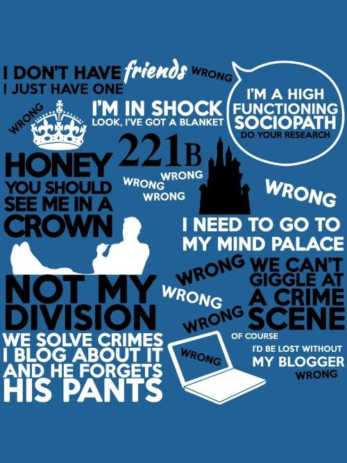 Quotes About Sherlock 169
