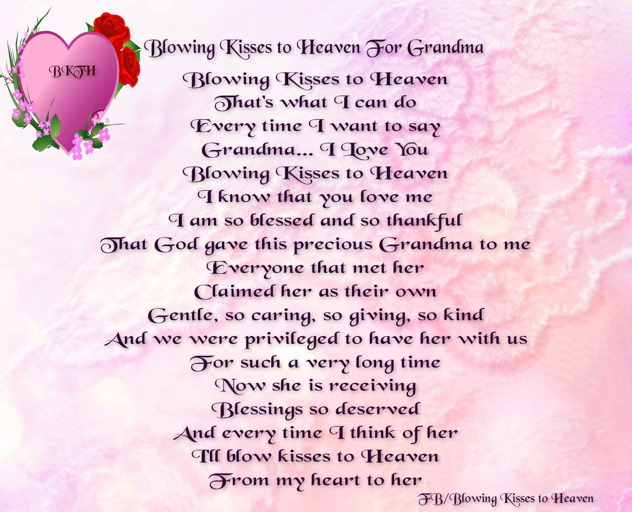 Missing My Mom In Heaven Quotes Quotes About Grandmother In Heaven 22 Quotes