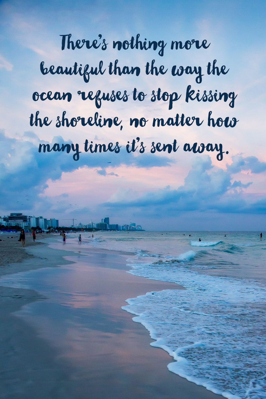 Quotes about Beach romance (27 quotes)