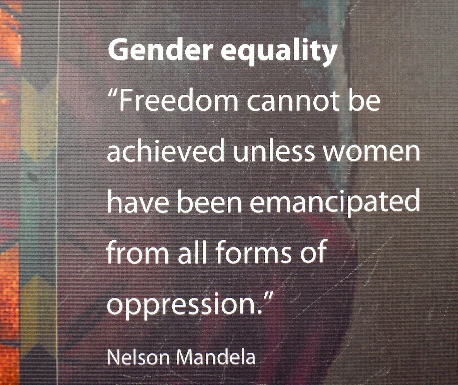 an essay on gender equity Essay gender inequality the issue of gender inequality is one which has been publicly reverberating through society for decades the problem of inequality in employment being one of the most pressing issues today.