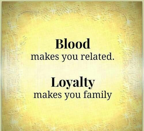 Quotes About Blood Doesnt Make Family 16 Quotes