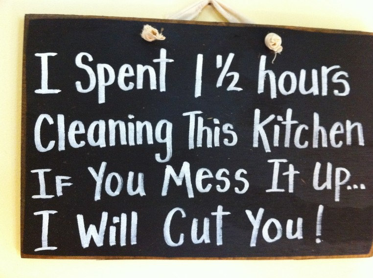Quotes About Clean Kitchen 37 Quotes