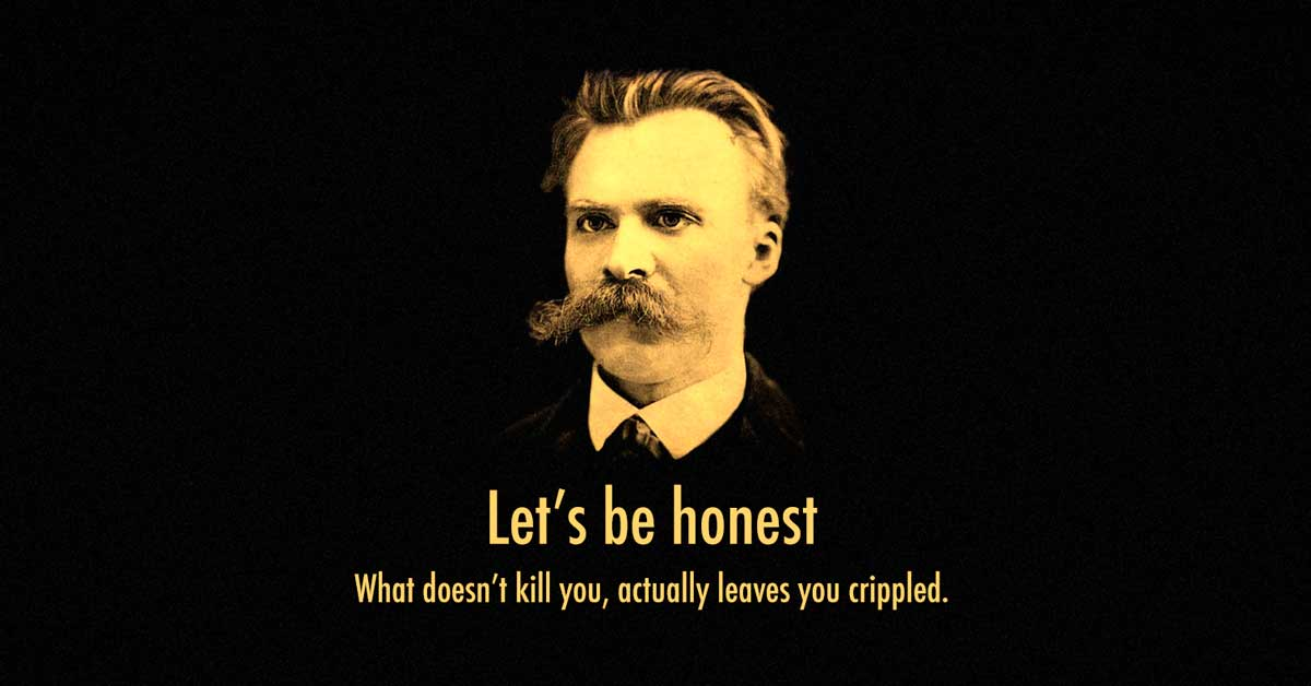 an analysis of nietzsches quote god is dead Nietzsche has stated 'god is dead' he justifies this statement on one end on the soul ground that religious clout has diminished to the point where he can make that comment without consequence one should feel compelled to this level since 'god is dead's ome one else must perfect the world.