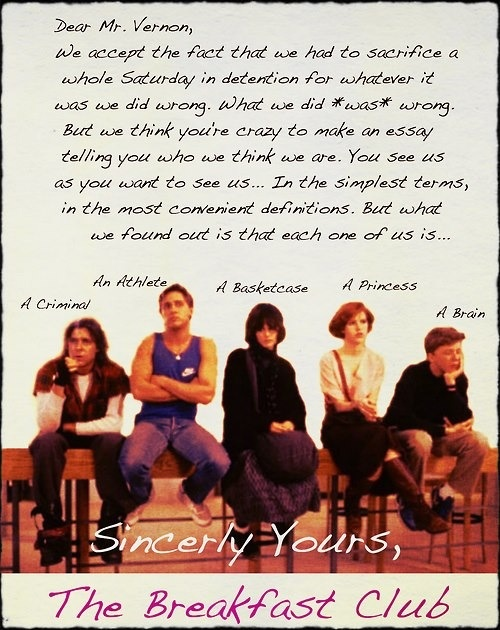 Quotes about Breakfast club (29 quotes)