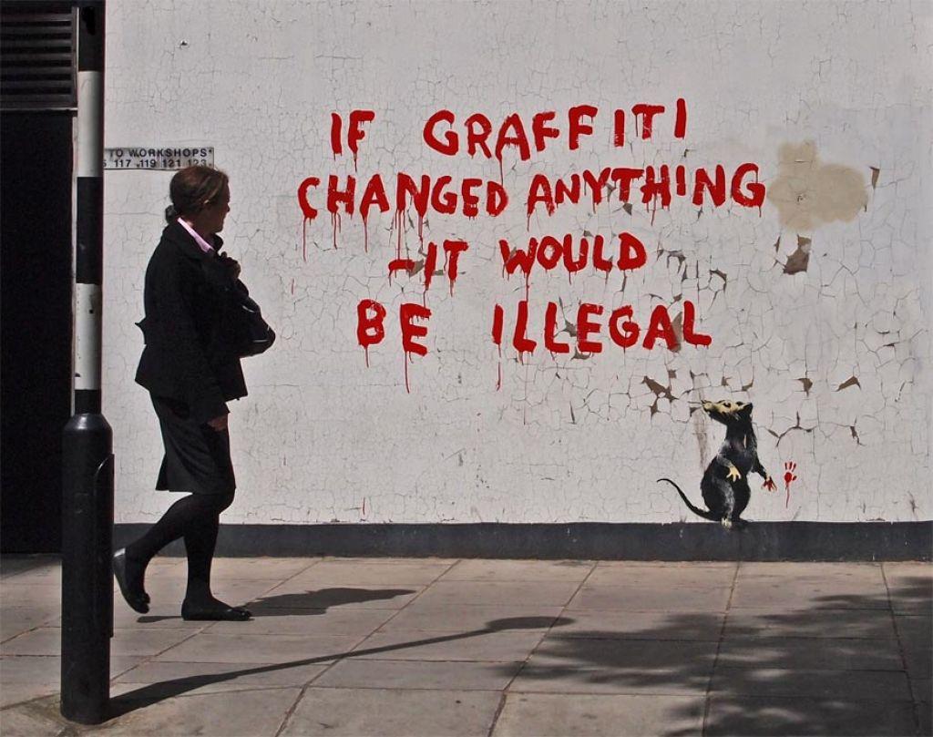 banksy graffiti quotes - 885×700