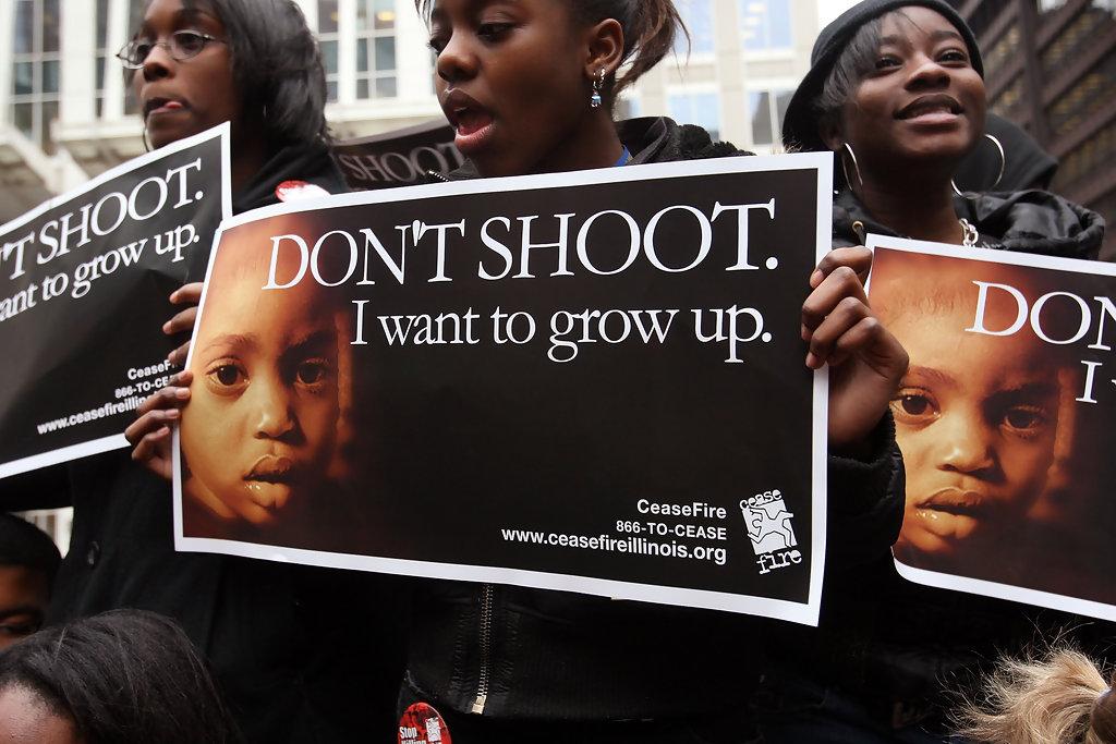 black on black violence