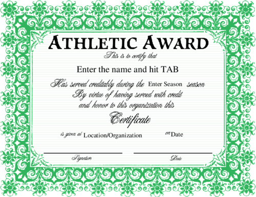 Quotes about sports awards 42 quotes athletic award enter the name and hit tab enter season locationorganization maxwellsz