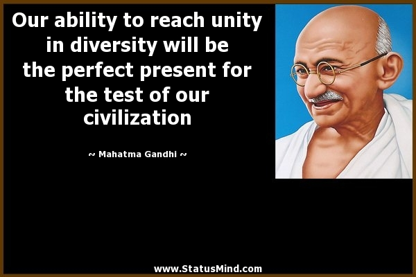 Quotes About Unity In Diversity (68 Quotes