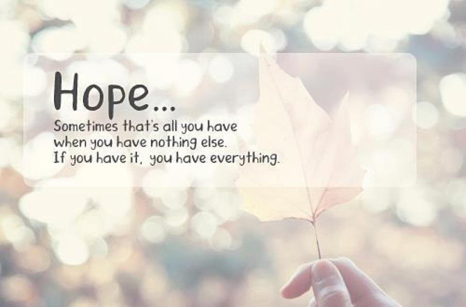 Quotes About When Hope Is Lost 23 Quotes