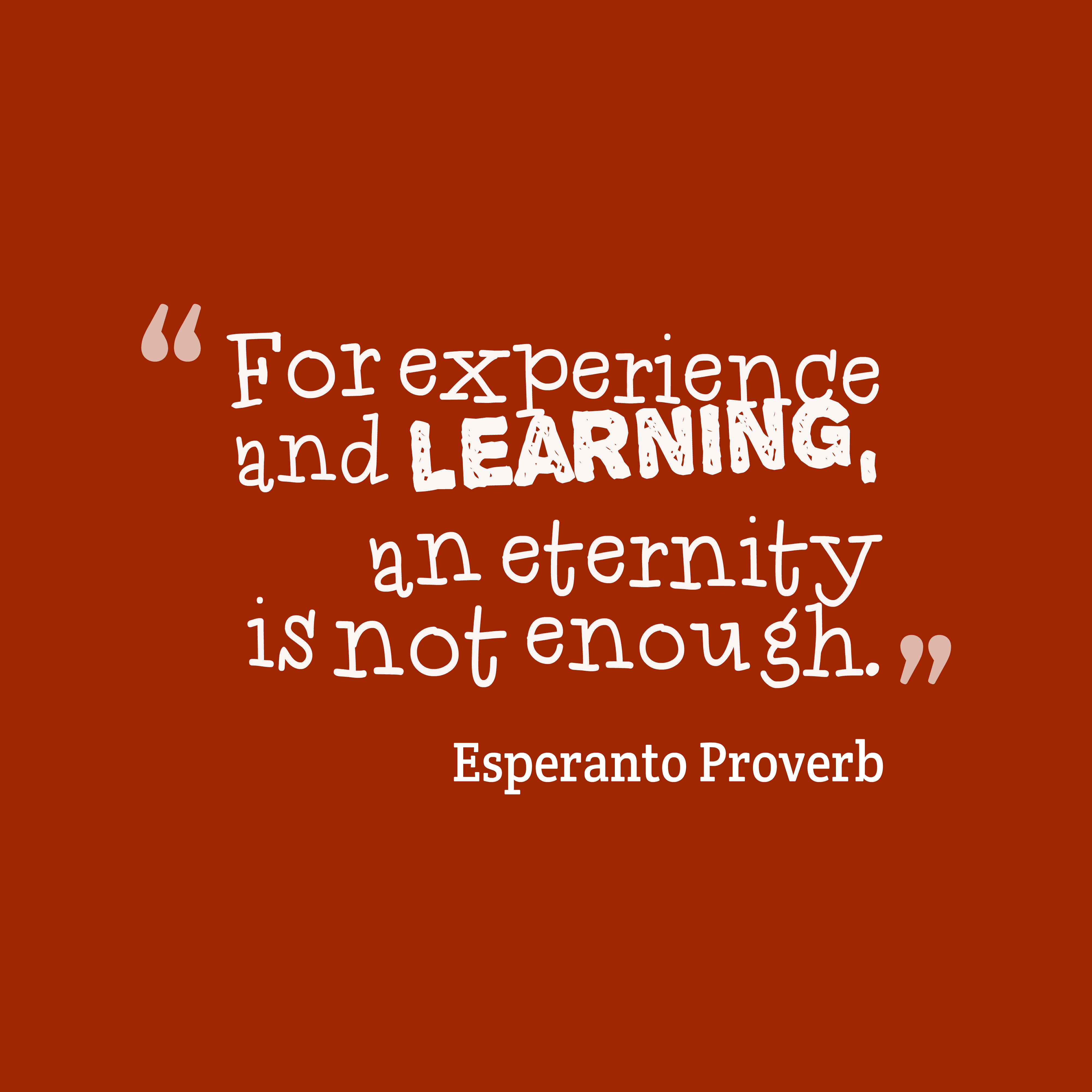 quotes about learning from experience quotes