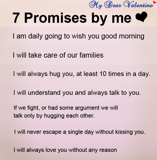 Quotes About Love Promises 52 Quotes