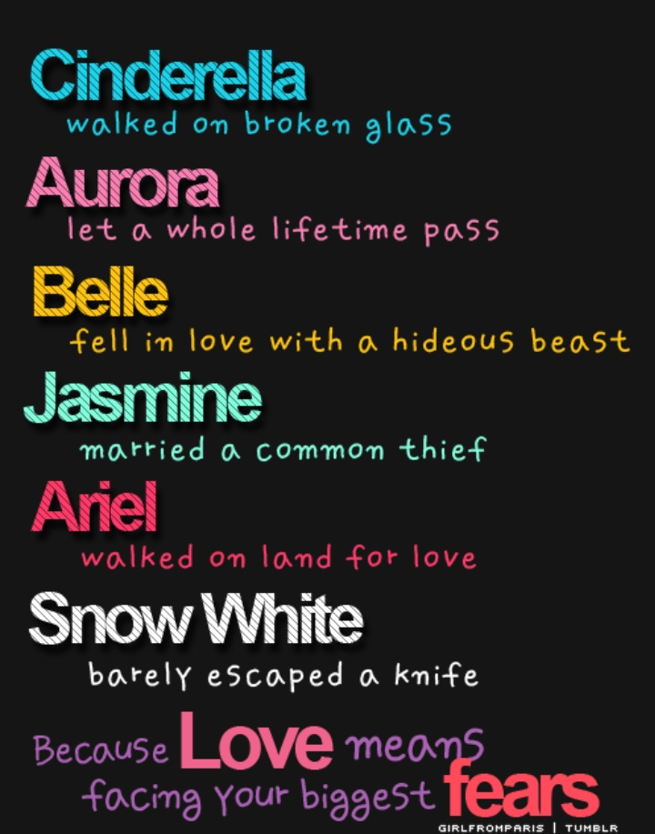 quotes about disney princess movies quotes
