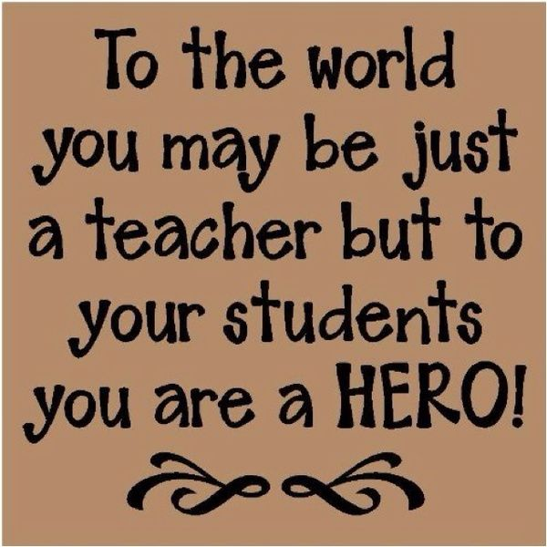 Quotes About Teacher My Hero 17 Quotes