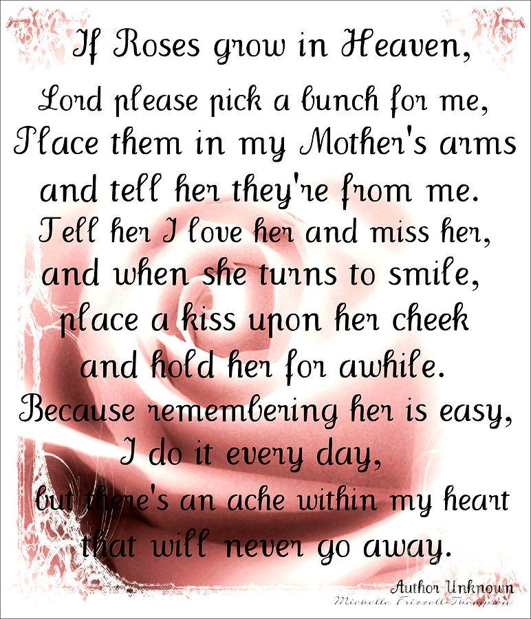 Quotes about Mom in heaven (21 quotes)
