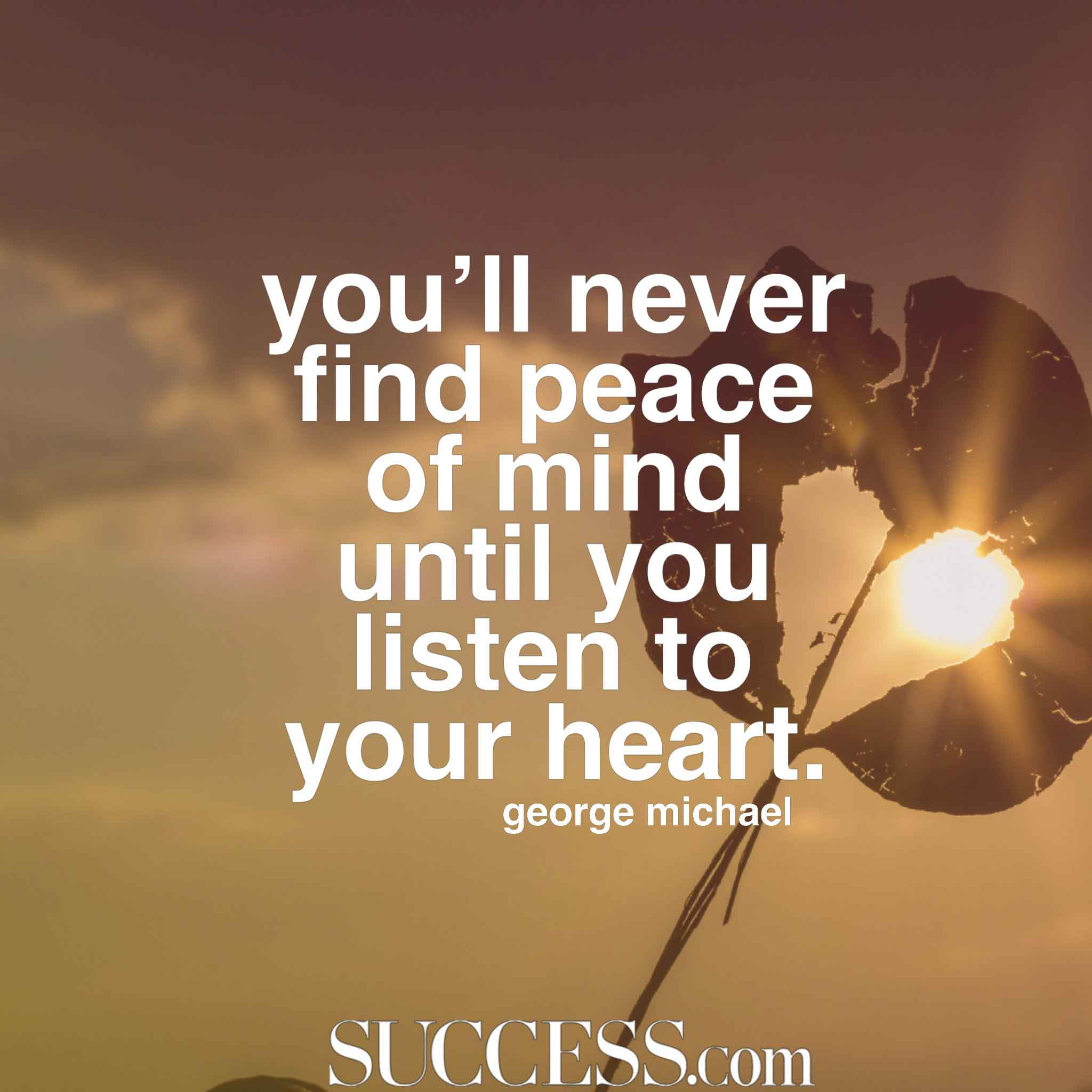 finding inner peace When i finally got the right treatment and got sober, after a decade of madness, i heard people speak about serenity and finding peace of mind in early recovery, it was still an utter mystery to me i saw a counselor who told me to give it time.