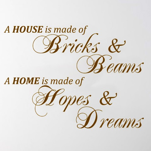 New Home Quotes | Quotes About Building A New Home 16 Quotes
